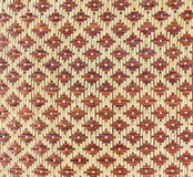 Woven bamboo pattern Stock Photos