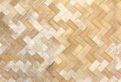 Woven bamboo pattern. Close up woven bamboo pattern Stock Image
