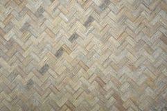 Woven bamboo pattern Stock Photos