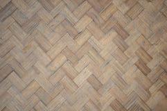 Woven bamboo pattern Stock Image
