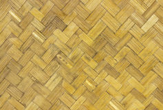 Woven bamboo pattern Royalty Free Stock Images