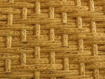 Woven Bamboo Rattan Fence Background Straw Weave Texture. Rattan furniture texture. royalty free stock photo