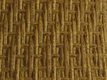 Woven Bamboo Rattan Fence Background Straw Weave Texture. Rattan furniture texture. stock photo