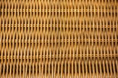 Woven bamboo, rattan fence, background, straw weave texture stock images