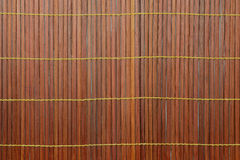 Woven bamboo red Royalty Free Stock Images