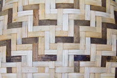 Woven bamboo Stock Image