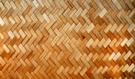 Woven Bamboo Strips Pattern Royalty Free Stock Images