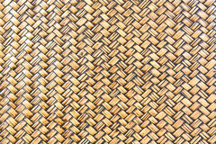 Woven bamboo texture Royalty Free Stock Image