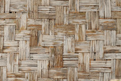 Woven bamboo texture Royalty Free Stock Photos