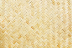 woven bamboo texture for background and design Royalty Free Stock Images