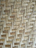 Woven bamboo texture Royalty Free Stock Photography