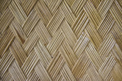 Woven bamboo textured background Stock Photo