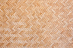Woven bamboo wall Royalty Free Stock Photos