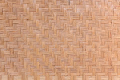 Woven bamboo wood Royalty Free Stock Photo