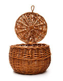 Woven basket Stock Photography
