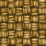 Woven basket. Background illustration of old worn woven basket Royalty Free Stock Photography