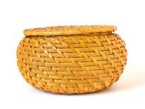 Woven basket Royalty Free Stock Photo