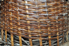 WOVEN BASKET Stock Photos