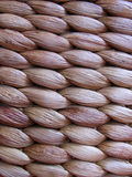 Woven basket closeup Stock Images