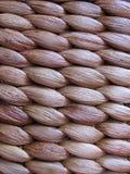 Woven basket closeup. A woven basket closeup - nice texture Stock Images