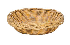 Woven Basket. Royalty Free Stock Image