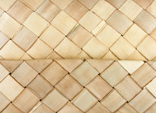 Woven Basket light texture horizontal Royalty Free Stock Images