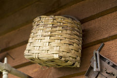 Woven basket Royalty Free Stock Image