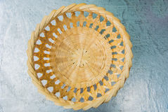 Woven basket pattern. Royalty Free Stock Image