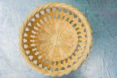 Woven basket pattern. Royalty Free Stock Image