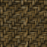 Woven basket texture. Seamlessly tiling rendered illustration Stock Photos