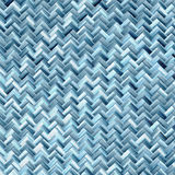 Woven basket texture. Seamlessly tiling rendered illustration Stock Photography