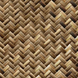 Woven basket texture. Seamlessly tiling rendered illustration Royalty Free Stock Photo