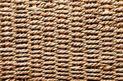 Woven basket texture. Textured basket made of natural fiber as a Royalty Free Stock Photography