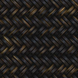 Woven basket twill texture. Seamlessly tiling background illustration Stock Photo