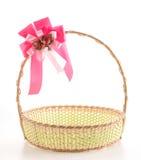 Woven basket Stock Photography
