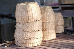Woven baskets Royalty Free Stock Photography