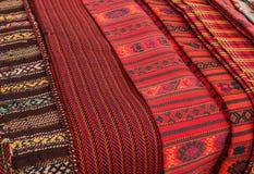 Woven belt Ukrainian national clothes Stock Image