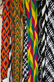 Woven Belts. Accessories - Woven Belts - Textiles of Mexico - Craft and indigenous textiles Royalty Free Stock Photo