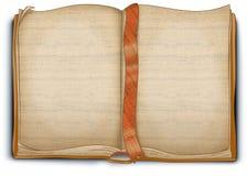 Canvas textured book - illustration royalty free illustration