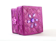 Woven box Stock Image
