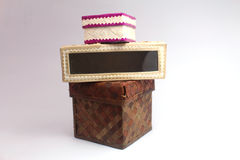 Woven Boxes Stock Images