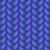 Woven Braid Vector Seamless Pattern Royalty Free Stock Photos