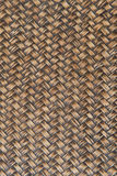 Woven brown wicker basket pattern background texture. Royalty Free Stock Images