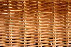 Woven Cane Texture - Perfect for textures for any purpose, such as videogames, signs, or visual design stock image