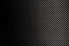 Woven carbon fiber sheet. Texture. Royalty Free Stock Images