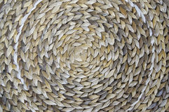 Woven circle. Abstract background, woven circle to be reed Royalty Free Stock Image