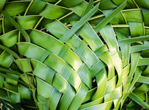 Woven Coconut Leaves Royalty Free Stock Photos