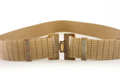 Woven cotton belt on white background Stock Photography