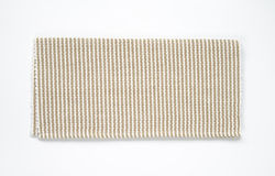 Woven cotton mat Royalty Free Stock Images