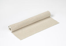Woven cotton mat Stock Photo